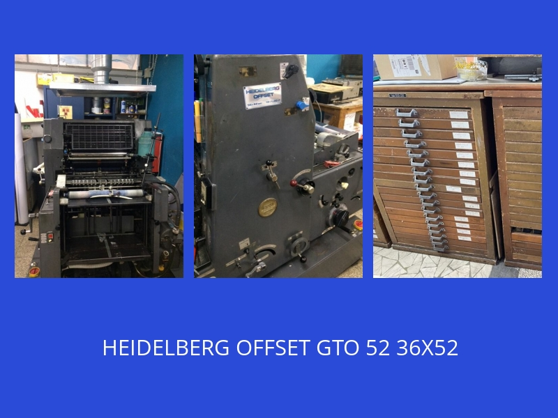 OFFSET HEIDELBERG GTO52