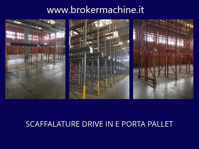 SCAFFALATURE PORTA PALLET E DRIVE IN