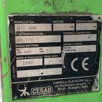 CARRELLO CESAB 800
