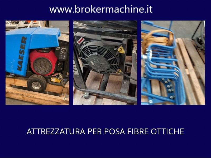 compressore per fibre ottiche